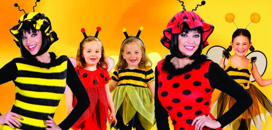 Kostumi za mimice in hčerke