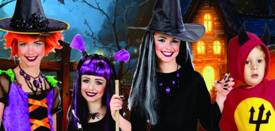 otroški kostumi za noč čarovnic