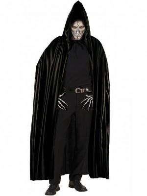 Pustni Kostum Ogrinjalo s Kapuco Črno 142cm