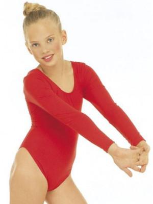 Pustni Kostum Body Rdeč za Deklice