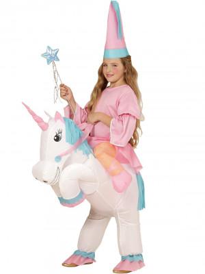 Dekliški Pustni Kostum Unicorn