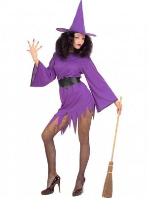 Pustni Kostum Čarovnica Viola
