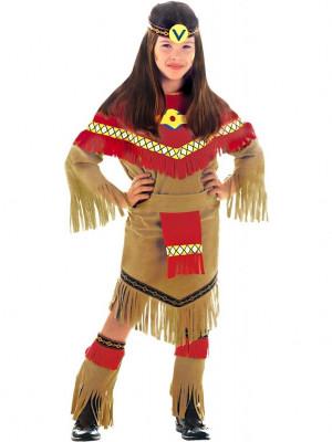 Pustni Kostum Indijanka Moonlight