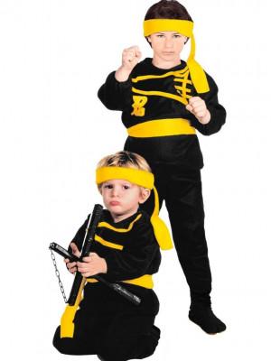 Pustni Kostum za ninjo Ninja Mala