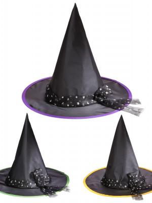klobuk z mašno za coprnico 9425