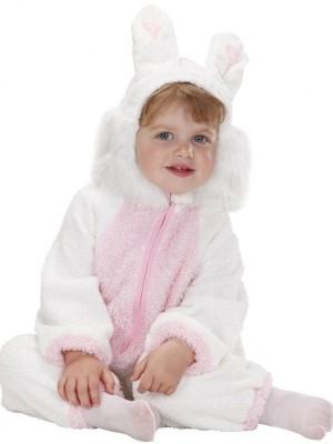 Pustni Kostum Fuzzy Zajček Dolgoušček