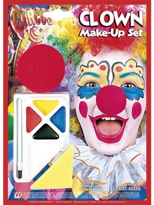 Make-Up Klovn z Nosom