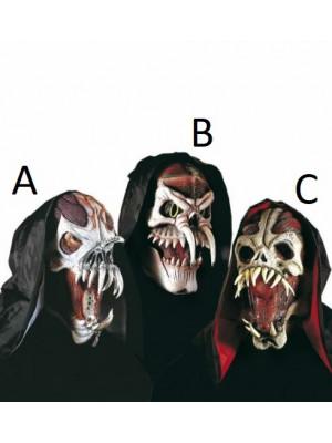Pustne Maske Pošasti s Kapuco