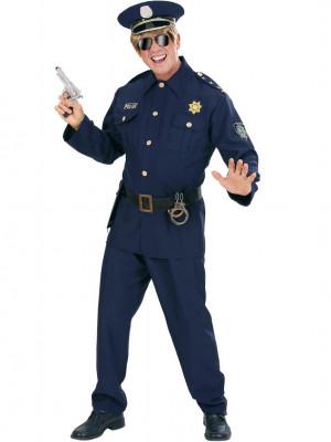 Moški Pustni Kostum Policaj