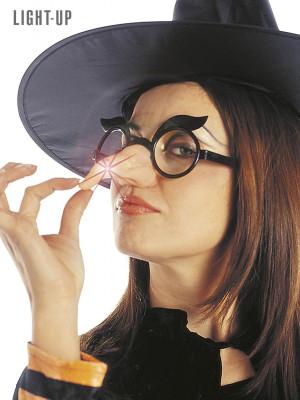 Očala z Nosom in Lučko