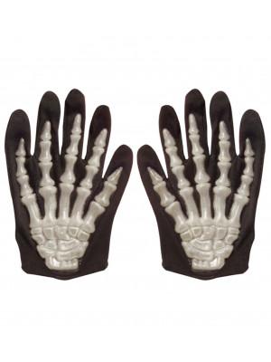 Otroške Pustne Rokavice Skelet 3D