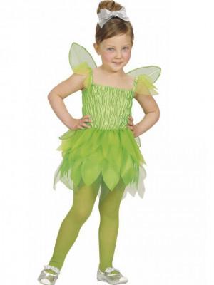 Pustni Kostum Vila Green Pixie