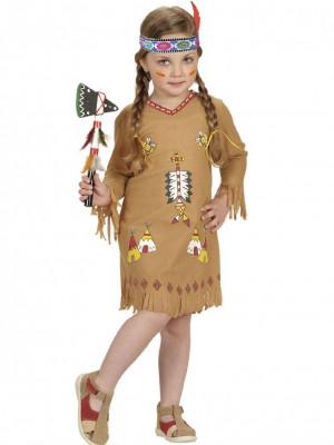 Pustni Kostum Prikupna Indijanka Mala