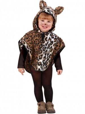 Pustni Kostumi Pončo Leopard