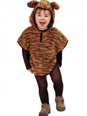 Pustni Kostumi Pončo Tiger
