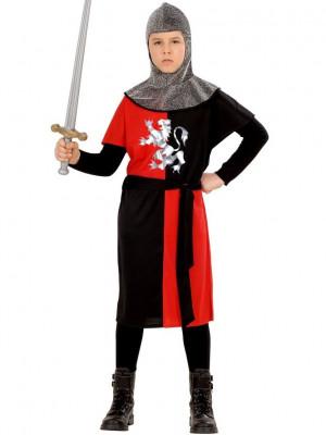Pustni Kostum Vitez Križar Rdeč