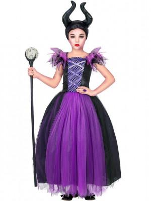 dekliški pustni kostum za zlohotnico