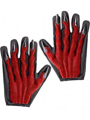 Rokavice 3D Hudič