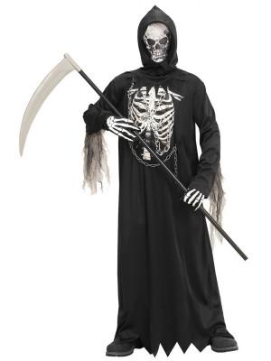 Pustni Kostum Grim Reaper z Verigo