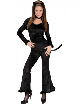 Pustni Kostum Črna Mačka
