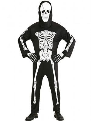 Pustni Kostum za okostnjaka Skeleton XL