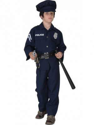 Pustni Kostum Policaj