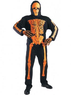 Pustni Kostum Neon Skeleton