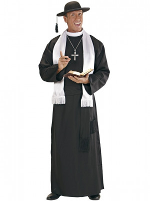 Pustni Kostum Župnik Camilo  XL