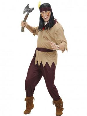 Moški Pustni Kostum za Indijanca