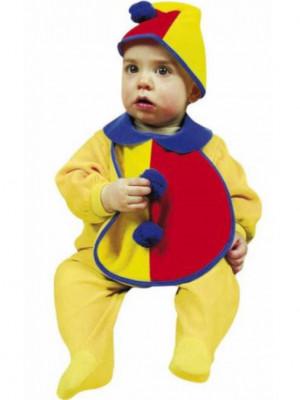 Pustni Kostum Set Baby Klovn
