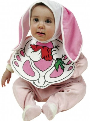 Pustni Kostum Set Baby Zajček