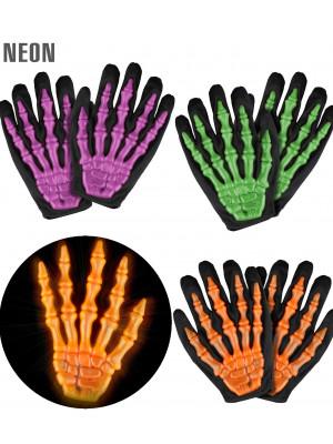 Rokavice Neon Skeleton 3D Otroške