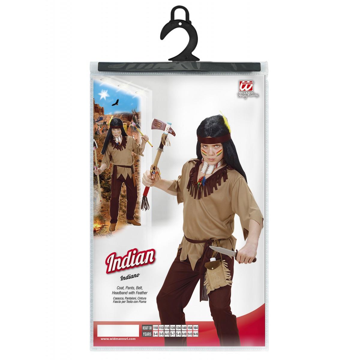 indijanec kostum za maškare 0261