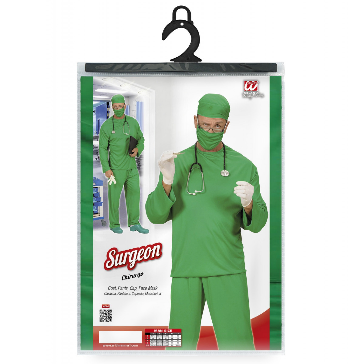 kostum zdravnik za maškare