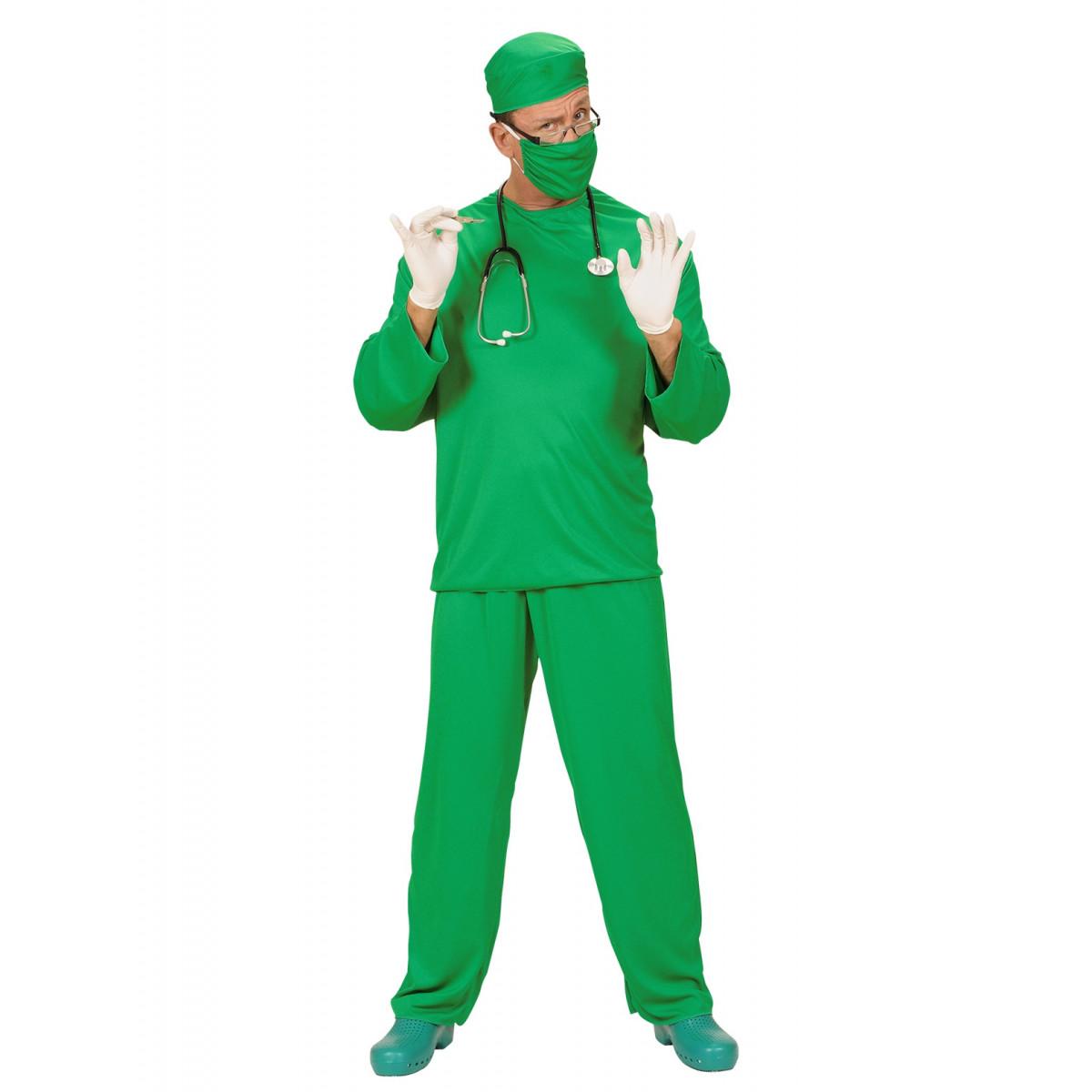 pustni kostum zdravnik 3910