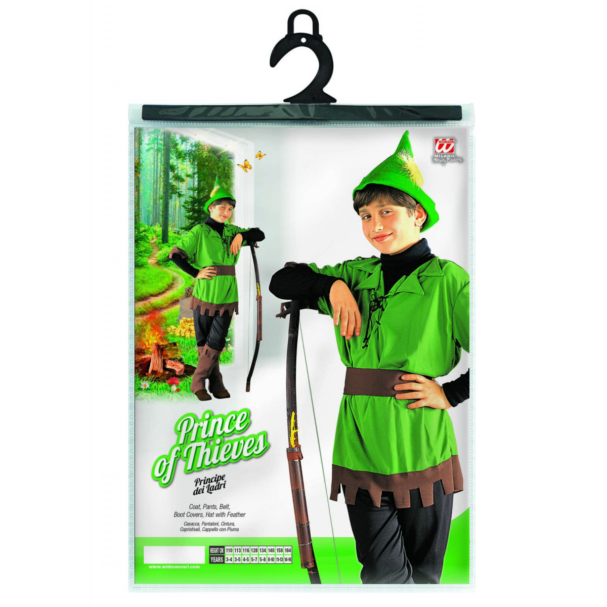 kostum Robin Hud 3836