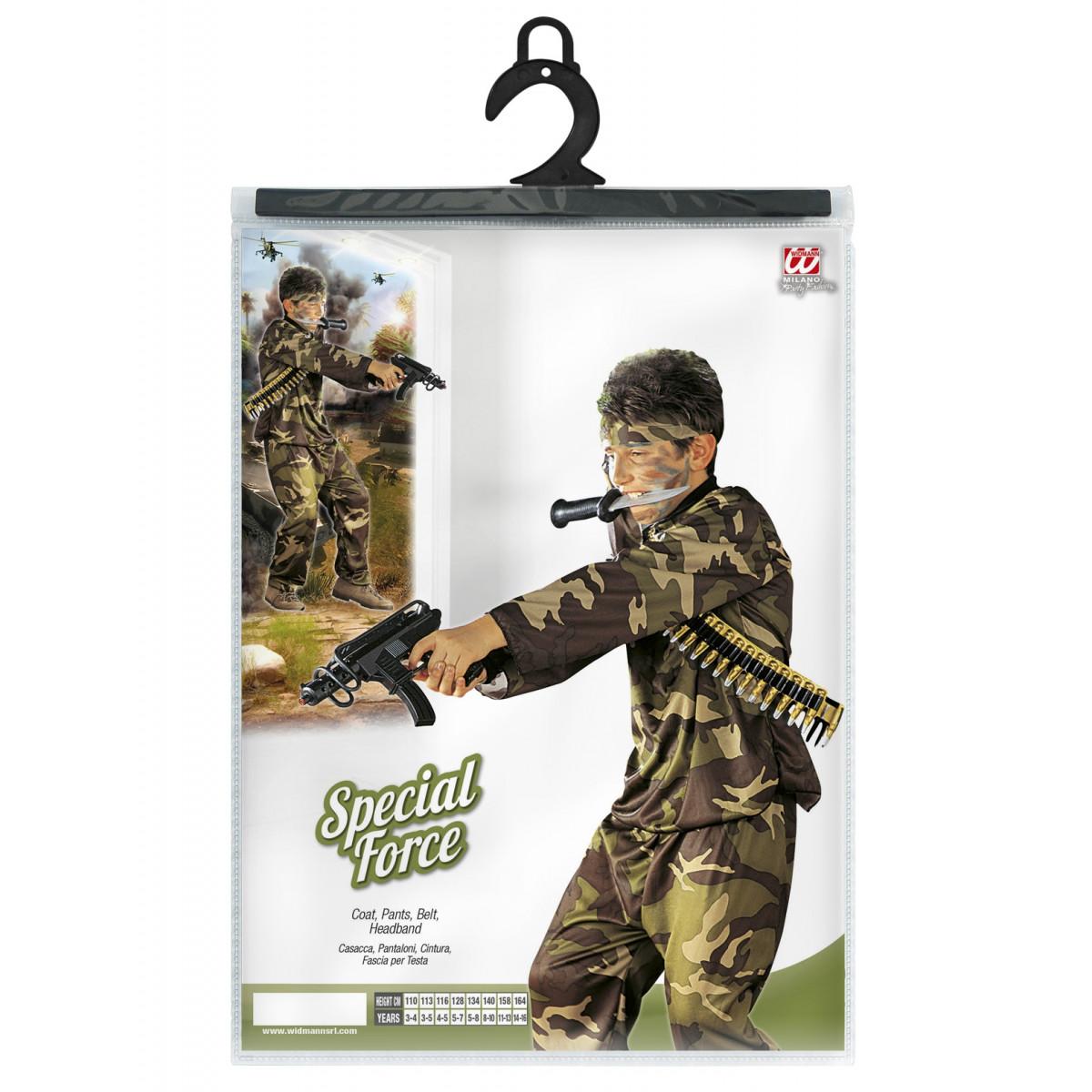 kostum vojak za maškare 3840