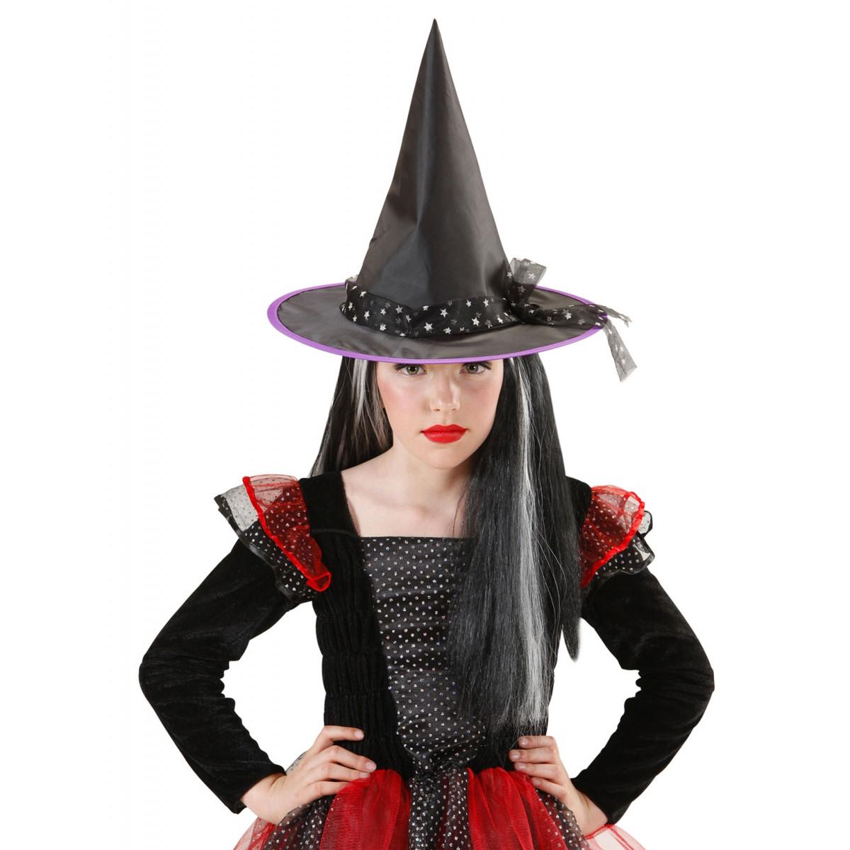 klobuk za čarovnico otroški 9425