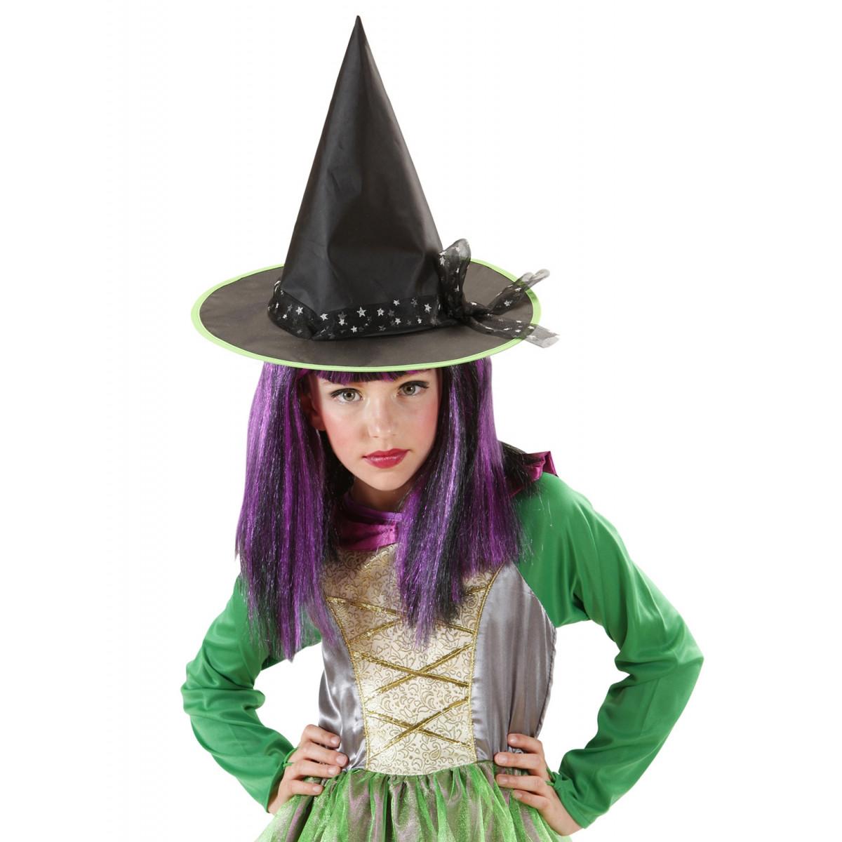 klobuk z mašno za čarovnico 9425