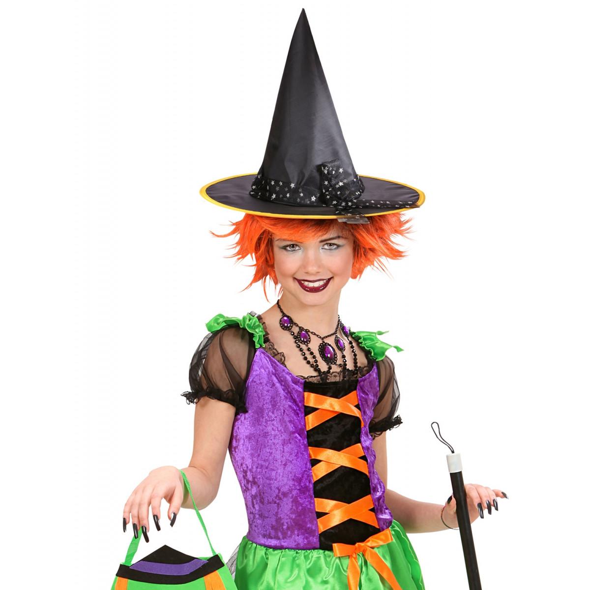 otroški klobuk za čarovnico 9425