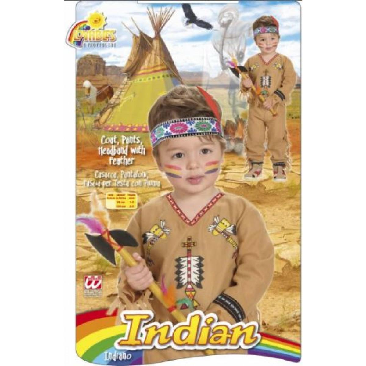 kostum za otroke indijanec 4892
