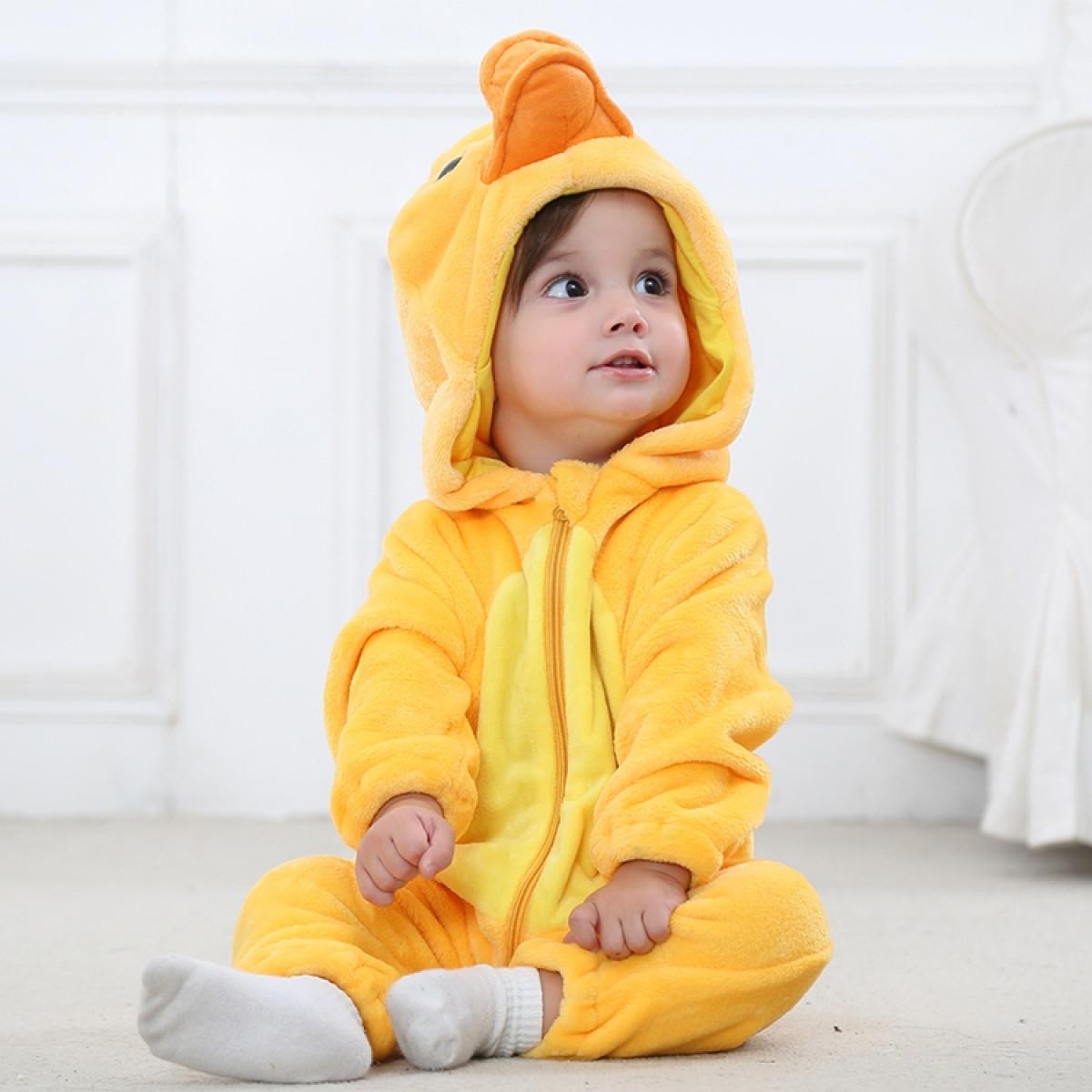 kostum za dojenčke račka 74503
