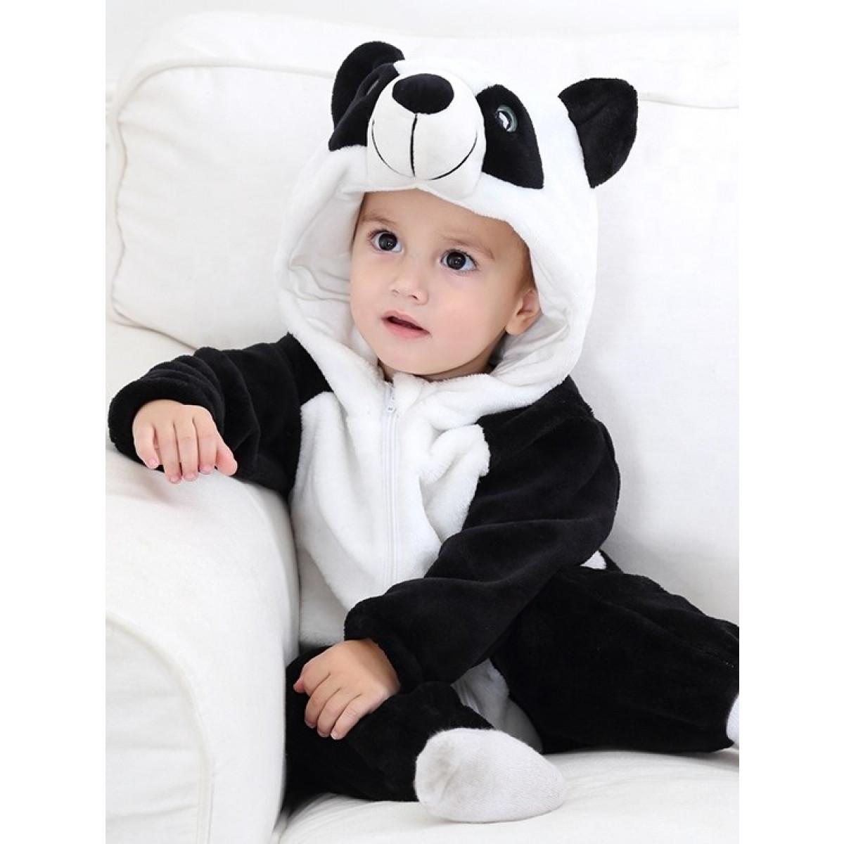 pustni kostum medvedek panda 1-3 let 74504