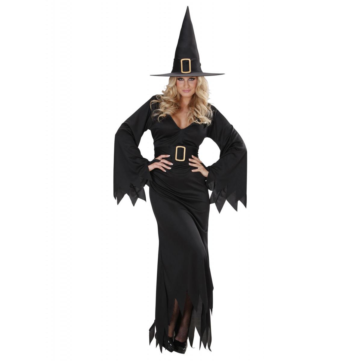 Pustni Kostum Čarovnica Elegant